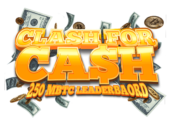 Win 250 mBTC on Clash for Cash Challenge