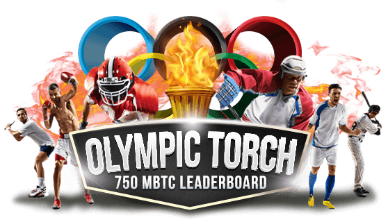 750 mBTC Olympic Torch Leaderboard