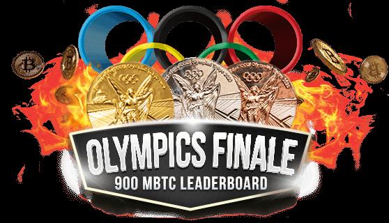 900 mBTC Olympics Finale Leaderboard