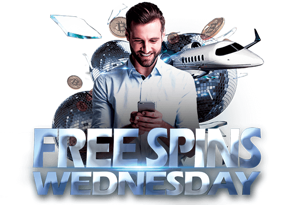 Get Free Spins every Wednesday